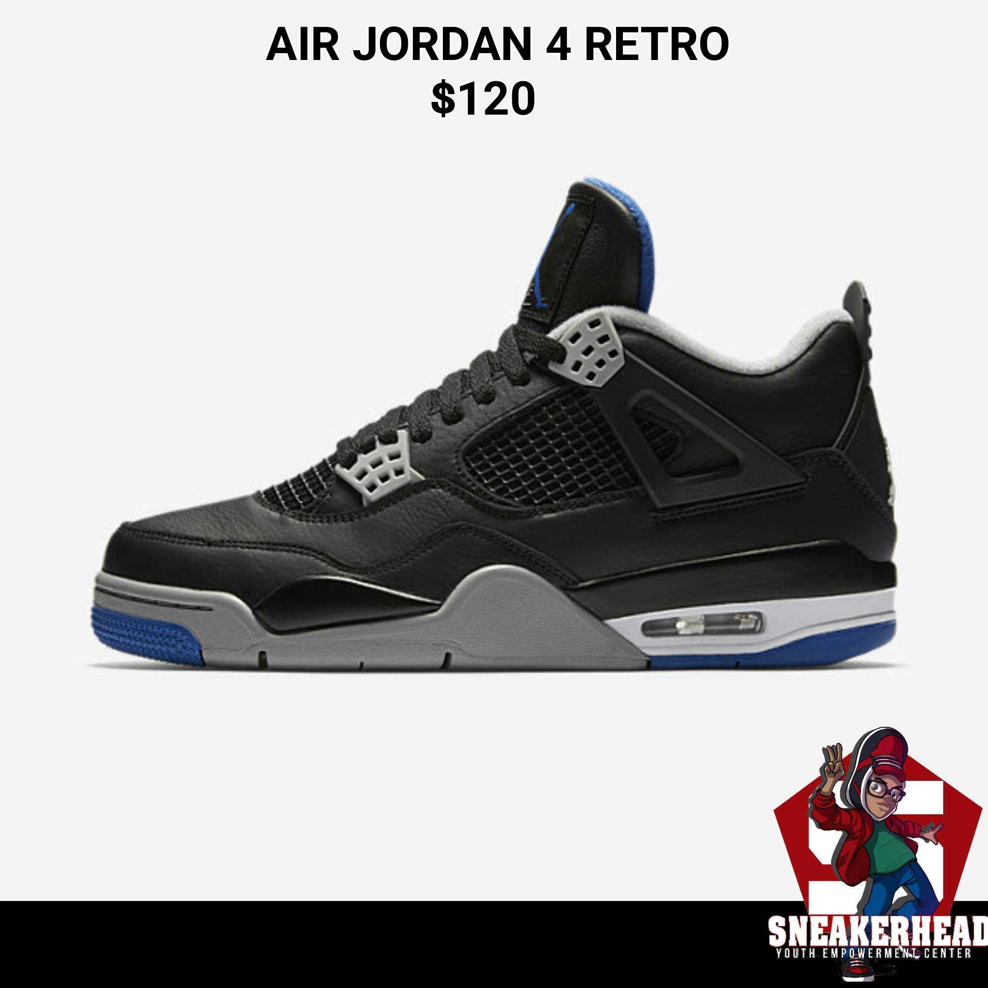 Air Jordan 4 Retro. Home/Air/Air Jordan 4 Retro