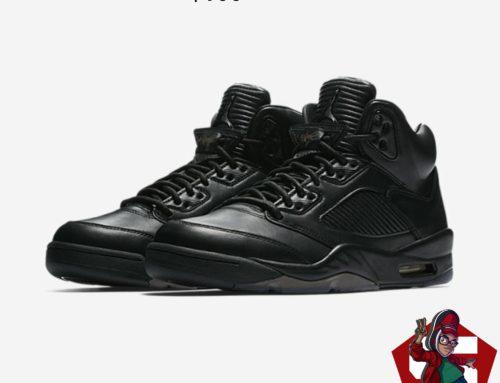 Black Air Jordan 5 Retro